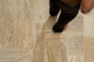 amp Ceramic Floor Tiles Quarry Astor Quarry Beige Detail 01