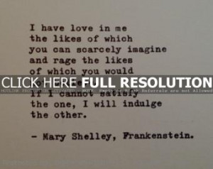 frankenstein quotes 2