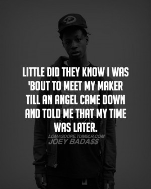 joey badass quote