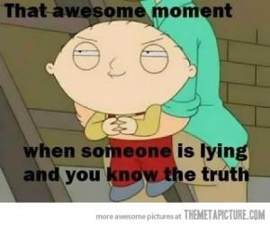 Funny photos funny Stewie suspicious face