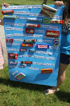 Candy Bar Posters and Gifts