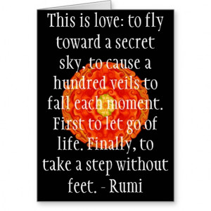 Related with Rumi Quote Famous Poet And Sufi Mystic Greeting Card