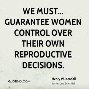 Women Control Quotes