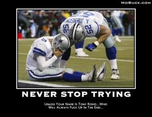 Tony Romo Sucks Image