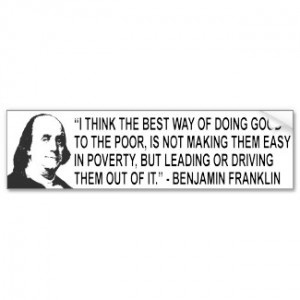 Think The Best Way of Doing Good To The Poor ~ Driving Quote