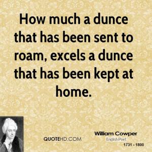 William Cowper Home Quotes