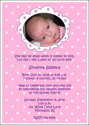 Welcome Home Baby Girl Photo Invite Cards areBecoming Very Popular!