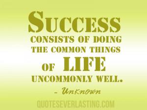 Success Life Famous Quote Quotez Kootation