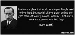 More Karel Capek Quotes
