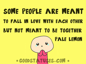 Some people are meant to fall in love with each other