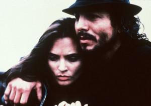 Still of Talisa Soto and Benjamin Bratt in Piñero (2001)