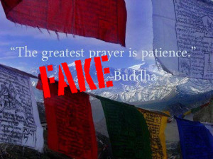 The greatest prayer is patience.""