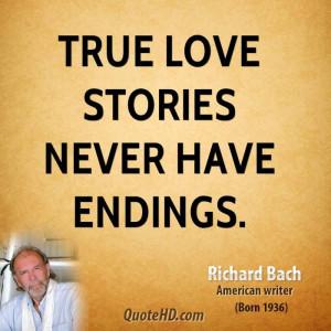 Richard Bach Quotes love | richard-bach-richard-bach-true-love-stories ...