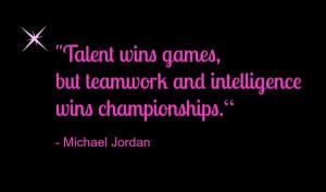 Teamwork, quotes, sayings, winner, michael jordan