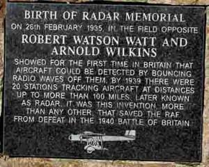 Watson Watt Radar