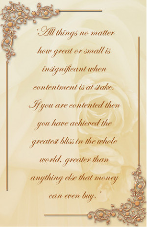 Contentment,contentment in the bible,contentment quotes,Bliss,blissful
