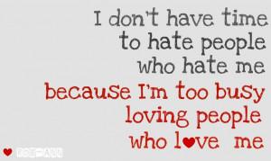 Love always wins over hate...♥