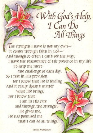 Keep Your Faith, Trust & Hope in God He is Always There