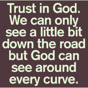 Trust Him....and let the Lord Jesus lead your life....in other words ...