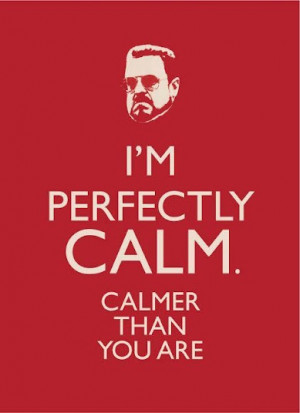 perfectly #calm #Dude