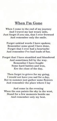 In Memory of my BROTHER...