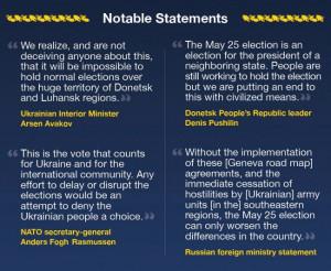 Infographic: Ukraine's 2014 presidential elec