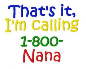 nana sayings