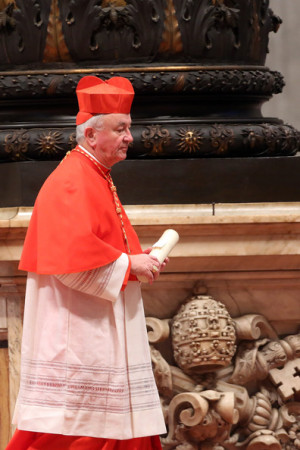 Vincent Nichols New Cardinal Archbishop of Westminster Vincent
