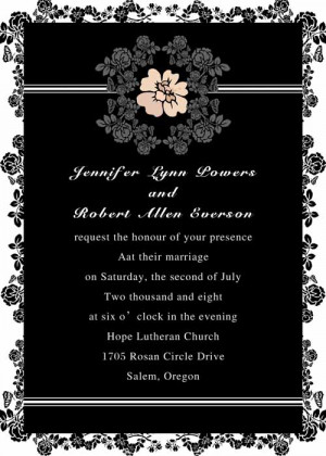 wording wedding invitations second weddings 09 s