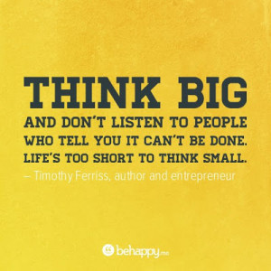 Think Big Quotes http://a-million-thoughts.blogspot.com/2012/05/t ...