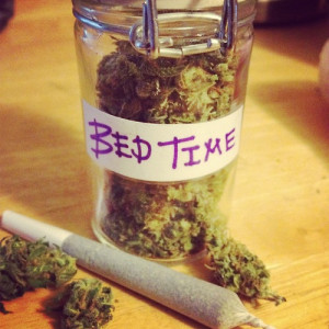 ... marijuana stoner jar smoke weed indica bed time stoner girl smoke pot