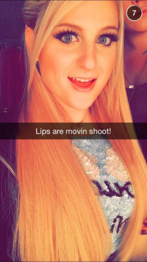 Meghan Trainor Lips Are Moving