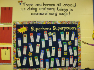 The Math, Science, and Social Studies heroes are ready to go outside ...