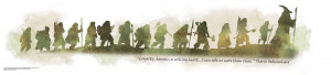 The Hobbit Wall Decal An Unexpected Journey, Thorin Oakenshield Quote