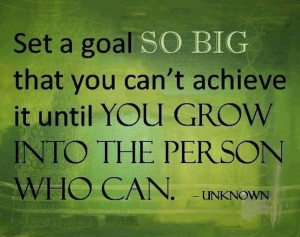 Sunday quotes - Goal Setting. It's a brand new week! Make it a great ...
