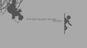 Portal quote Wallpaper