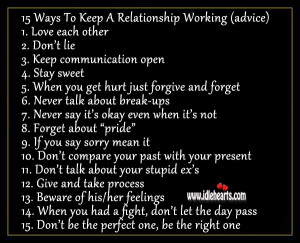 Keep It 100 Relationship Quotes