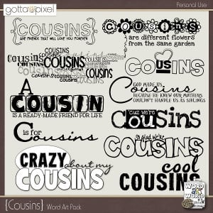 some cousin quotes