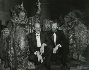 Frank Oz & Jim Henson dressed up for the premiere party for the The ...