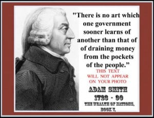Quotes Adam Smith ~ Adam Smith 8 1 2 x 11 Photograph Novelty Quote ...
