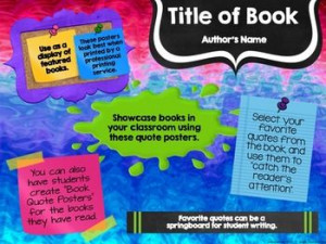 Book Quote Posters to Encourage Reading {Editable} - Teachers or ...