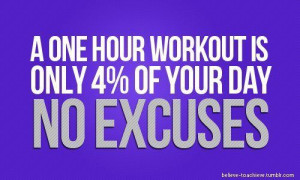 One Hour Workout Is