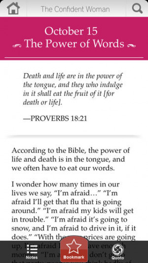 ... for: Discipleship The Confident Woman Devotional By Joyce Meyer
