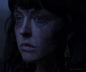 Katharine Isabelle in American Mary by GarySWilkinson on deviantART