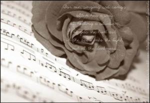 Love Singing Quotes
