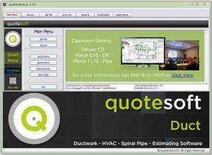 QuoteSoft Ductwork Estimating Software