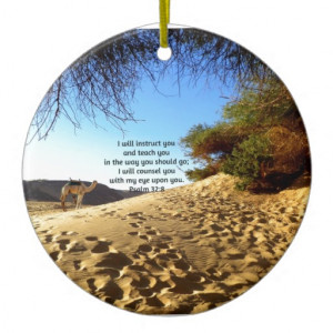 bible_verses_inspirational_quote_psalm_32_8_ornament ...