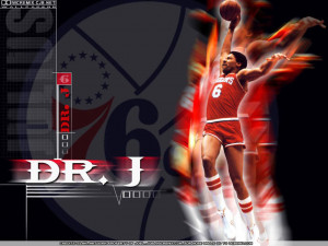 Julius Erving 76ers