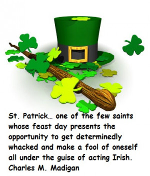 Happy St. Patrick day quotes cards