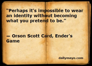 Quote: Orson Scott Card